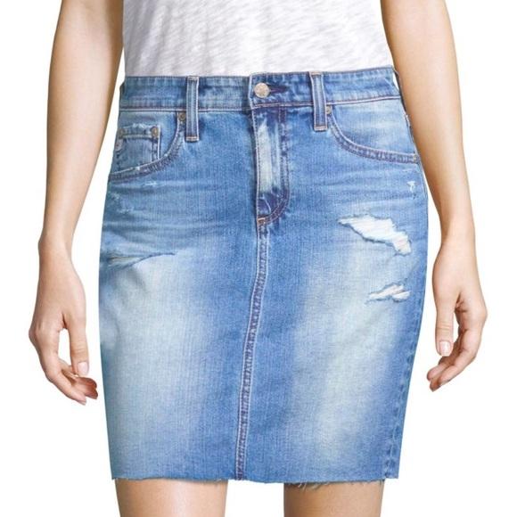 edd65265ee Ag Adriano Goldschmied Skirts   Ag Denim Pencil Skirt The Erin ...